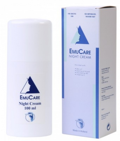 EmuCare éjjeli krém 100ml pikkelysömör ellen