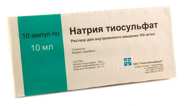 nátrium-tioszulfát a pikkelysömör kezelésében